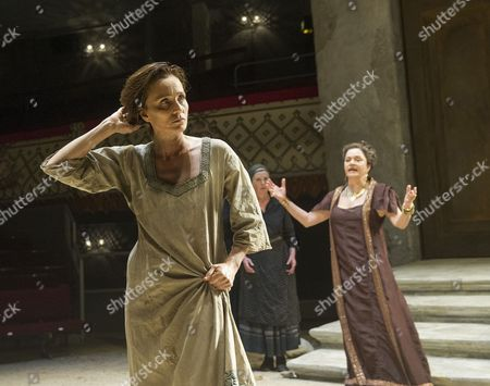 Kristin Scott Thomas as Electra, Diana Quick as Clytemnestra