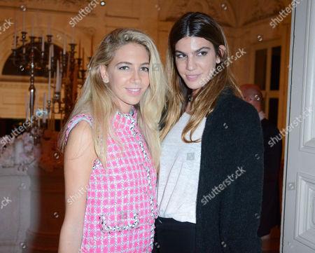 Stock Image of Bianca Brandolini D'Adda and Sabine Ghanem