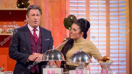 Alan Titchmarsh and Stacie Stewart