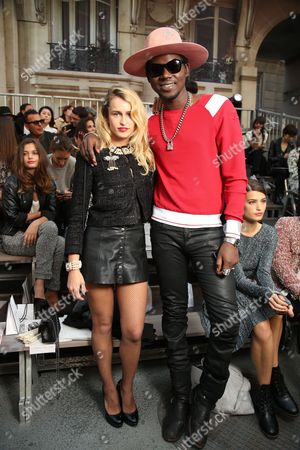 Alice Dellal and Theophilus London