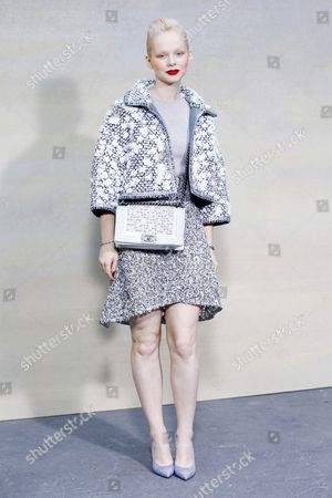 Editorial picture of Chanel show, Spring Summer 2015, Paris Fashion Week, France - 30 Sep 2014