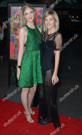 Elena Kampouris and Olivia Crocicchia