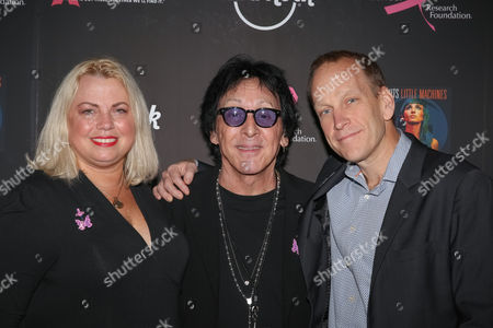 Stephanie Kauffman, Peter Criss, John Galloway