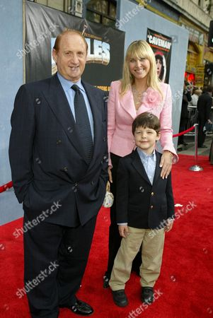 Michael Medavoy, Irena Medavoy and son Nicholas
