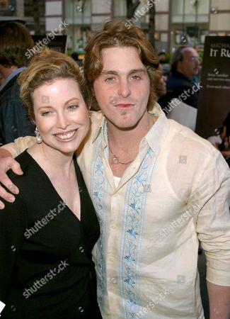 Cameron Douglas and mother Diandra Douglas