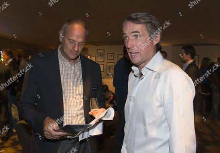 Alan Hansen and Sir Steve Redgrave