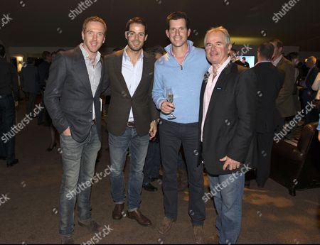 Damian Lewis, Jamie Redknapp, Tim Henman and Allan Lamb