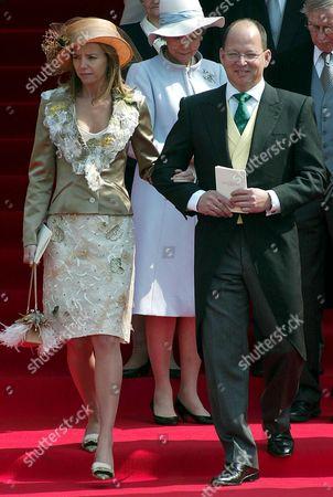 Stock Picture of PRINCE KARDAM AND PRINCESS MIRIAM UNGRIA