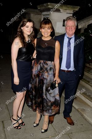 Rosie Kelly, Lorraine Kelly and Steven Smith