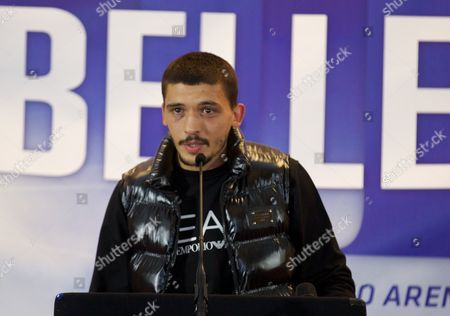 Stock Photo of Lee Selby ahead of his world eliminator fight in the Copper Box Arena on the 11 October v Joel Brunker