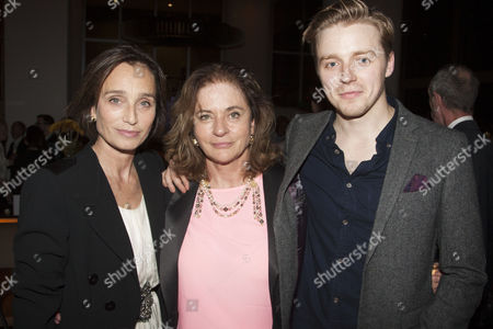 Kristin Scott Thomas (Electra), Diana Quick (Clytemnestra) and Jack Lowden (Orestes)