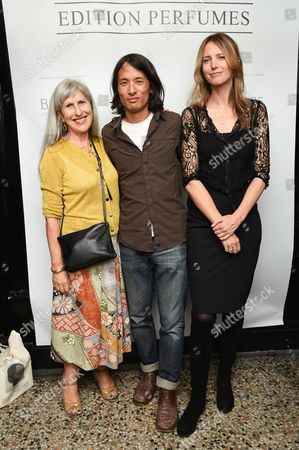 Stock Picture of Caroline Burstein, Timothy Han and Cecilia Chancellor