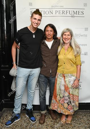 Mac Anabtawi, Timothy Han and Caroline Burstein