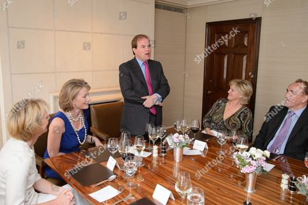 Laura Lonsdale, Lucy O'Donnell, Lord Dalmeny, Lady March and Mark Flawn Thomas