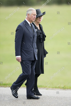 Stock Image of Prince Charles and Camilla Duchess of Cornwall