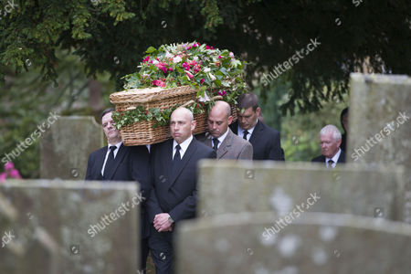 Editorial picture of Funeral of The Dowager Duchess of Devonshire, Derbyshire, Britain - 02 Oct 2014