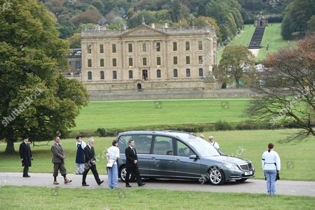 Funeral of The Deborah Cavendish Duchess of Devonshire