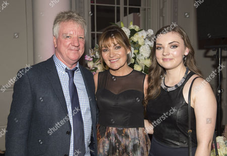 Steve Smith, Lorraine Kelly and Rosie Smith