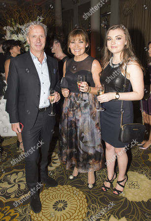 Peter Fincham, Lorraine Kelly and Rosie Smith