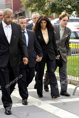 Editorial image of Joe and Teresa Guidice arrive for sentencing, Newark, New Jersey, America - 02 Oct 2014