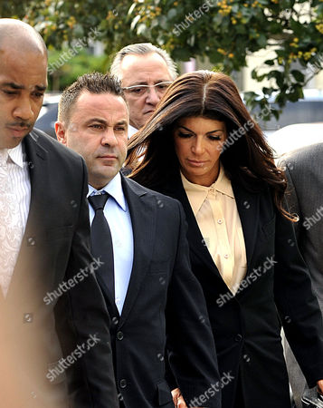 Editorial picture of Joe and Teresa Guidice arrive for sentencing, Newark, New Jersey, America - 02 Oct 2014