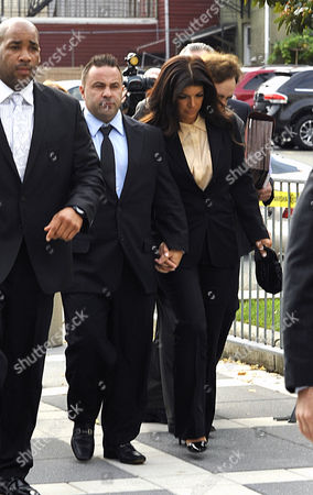 Editorial photo of Joe and Teresa Guidice arrive for sentencing, Newark, New Jersey, America - 02 Oct 2014