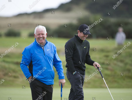 Rory and Gerry McIlroy