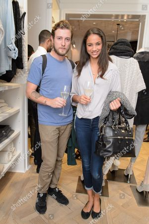 Editorial picture of Club Monaco Sloane Square Store Launch Party, London, Britain - 01 Oct 2014