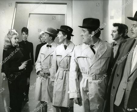 Charles Hawtrey, Kenneth Williams, Bernard Cribbins and Eric Pohlmann.