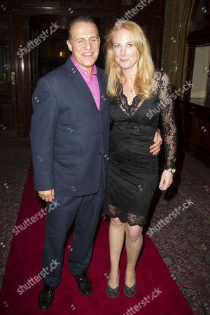 Nigel Lindsay (Charlie Fox) and Laura Lindsay