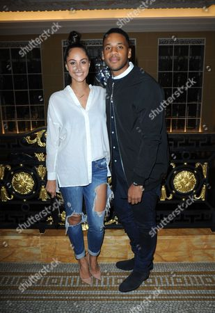 Tia Ward and Reggie Yates