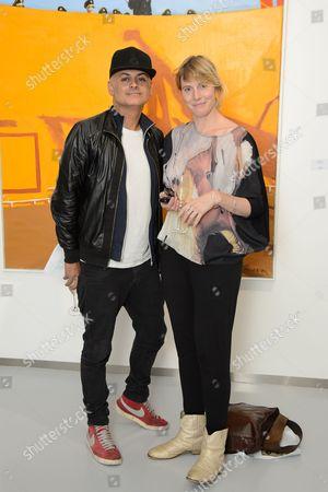Stock Image of Stuart Watts and Anna Winslet