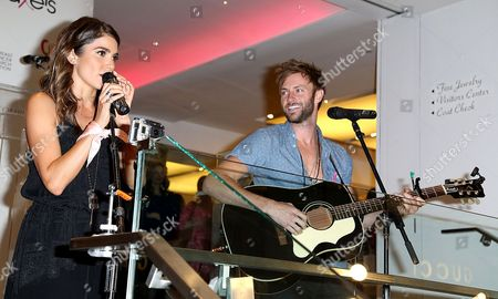 Stock Picture of Nikki Reed and Paul McDonald
