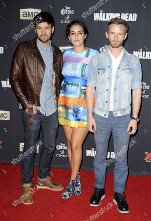 Alanna Masterson, Christopher Masterson and Jordan Masterson