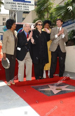 MAXINE WATERS, JOHNNY GRANT, ETTA JAMES, DIANE WATSON AND LERON GUBLER