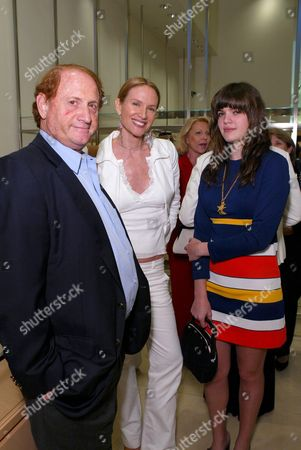 MICHAEL MEDAVOY, KELLY LYNCH AND DAUGHTER SHANE