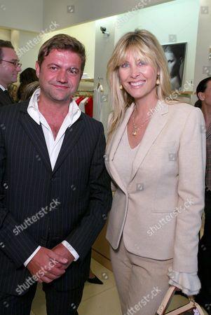 Guglielmo Melegari and Irena Medavoy