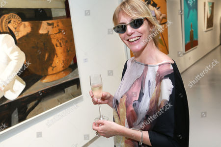 Editorial picture of Rules of Engagement private view by Julio Larraz at ContiniArtUK, London, Britain - 02 Oct 2014