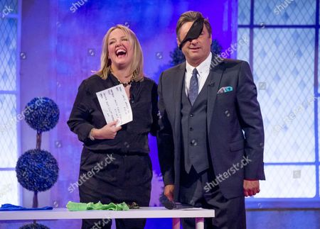 Faye Sawyer and Alan Titchmarsh