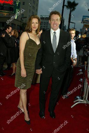 Lauren Lambert and John C. McGinley