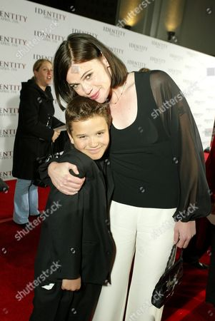 Stock Picture of Bret Loehr and Clea Duvall