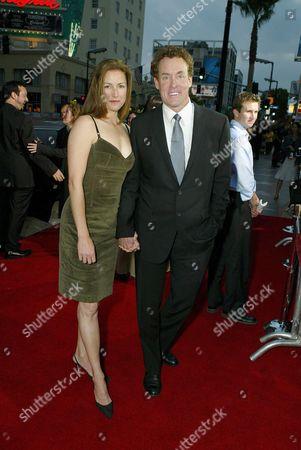 Lauren Lambert and John C McGinley
