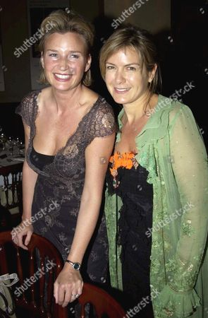 PENNY SMITH WITH SARAH SCOTT, WIFE OF DOUGRAY