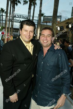 Editorial picture of THE REAL CANCUN FILM PREMIERE, LOS ANGELES, AMERICA - 24 APR 2003