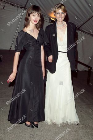 Trish Goff and Stella Tennant