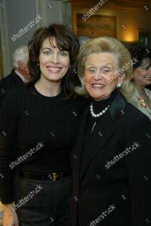 Cynthia Sikes Yorkin and Barbara Davis