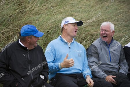 Johann Rupert, Ernie Els and Gerry McIlroy