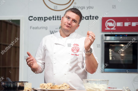 Editorial image of Cake and Bake Show, London, Britain - 03 Oct 2014