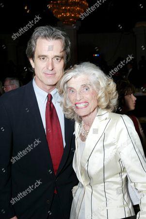 Stock Photo of Bobby Shriver and Eunice Shriver