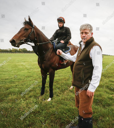 john with Ian Brennan-The Wow Signal John Qinn Yard Visit Malton Gallops